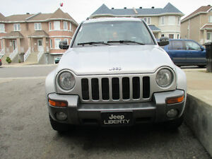 2004 Jeep Liberty Columbia edition SUV, Crossover