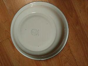 Mid Century Lucky Elephant Tropical Trees Serving Bowl London Ontario image 2