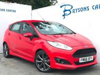 2017 66 Ford Fiesta 1.0T (125ps) EcoBoost ST-Line Manual for sale AYRSHIRE
