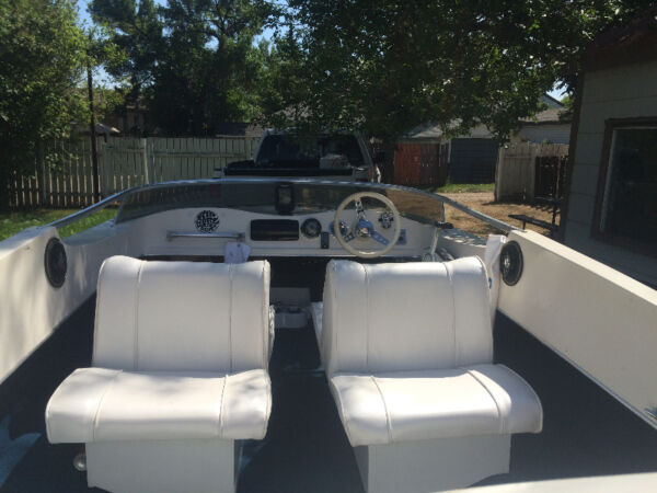 Used 1980 Thunder Jet Boats JETSTER 16' BUBBLE DECK SPEED BOAT!
