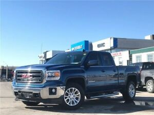 2015 GMC Sierra 1500 SLE SLE, DBL CAB, 4X4, ONE OWNER, NO ACC...