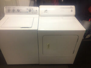 General Electric Washer & Kenmore Dryer