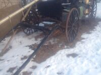 Amish Made buckboard