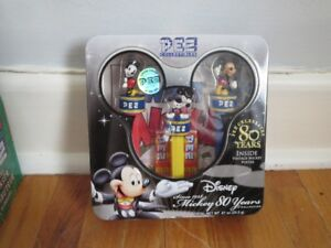Disney Mickey 80 years Pez Collectibles Tin Limited Edition
