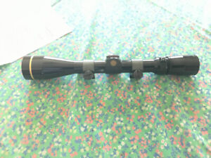 Leupold rifle scope 3.5 - 10 x with rings.  Var x 3,  $250 Firm.