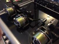 Original Shimano big bait runner long cast reels x 3