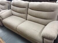 Brand new LAZBoy Indiana three seater and one seater sofas
