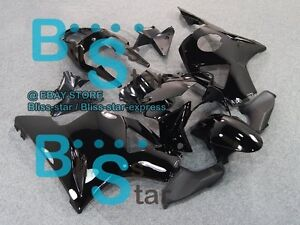 Black Gloss INJECTION Fairing Kit HONDA CBR900RR CBR954RR 2002-2003 22 NN