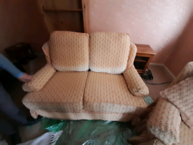 FREE 2 seater sofa and a arm chair