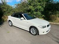 2012 BMW 1 Series 118i ES 2dr, Convertible, Petrol, 50k Miles