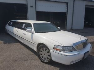 2004 Lincoln Continental Limo Stretch by Krystal Coach (reduced)