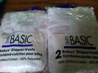 BABY DIAPER VESTS