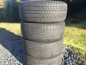 Four Toyo 205/55R16 Summer Tires