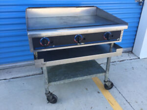 """Star Max 36"""" Thermostatic Controlled Gas Griddle, Super Clean!"""