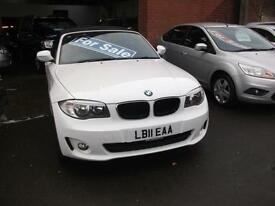 2011 BMW 118 2.0 2011MY i Sport Convertable 42,609 Miles