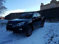 Immaculate Isuzu Blade Black 4x4 Pick Up With Full Service History