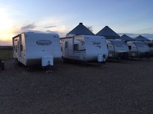 Camping trailers for rent ,Wiebe RV Rentals.