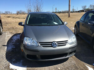 2009 VW Rabbit $7500 CERTIFIED! very low kms!