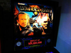 Waterworld Pinball DMD For Trade