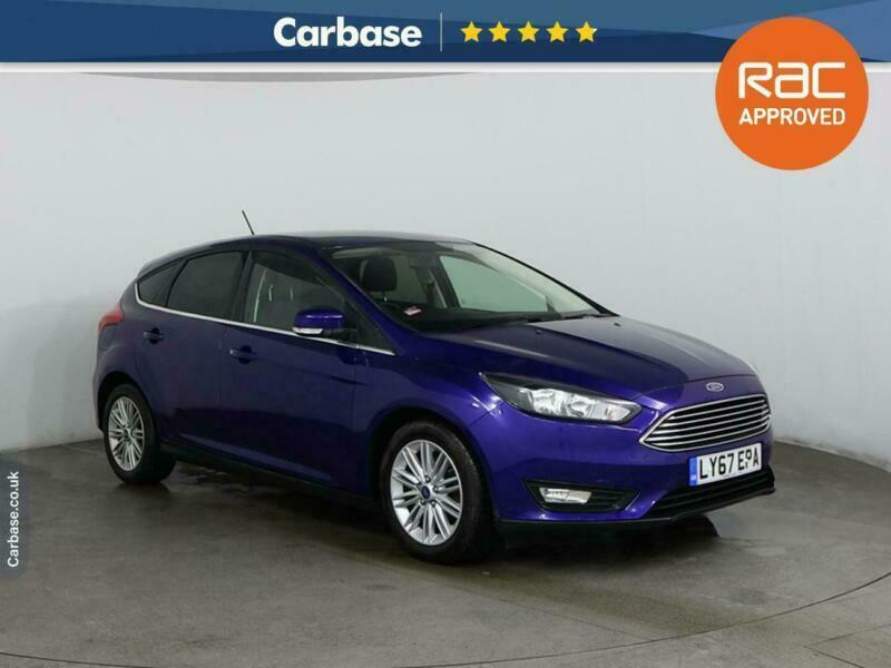 2017 Ford Focus 1.0 EcoBoost 125 Zetec Edition 5dr HATCHBACK Petrol Manual