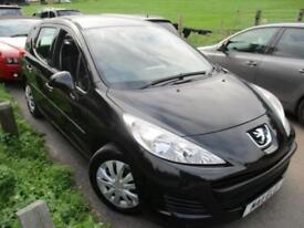 2011 PEUGEOT 207 HDI SW S ESTATE £20 A YEAR TAX AND HIGH MPG . ESTATE DIESEL