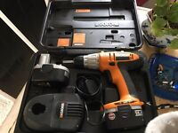 Worx complete drill kit