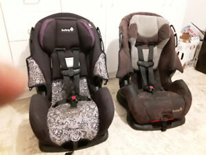 2 safety first car seats