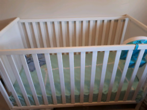 3 items crib,toy and mattress all for $ 215