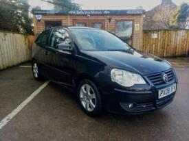 2008 VOLKSWAGEN POLO 1.2 ( 70PS ) MATCH IN BLACK