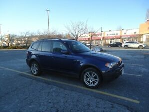 2005  BMW  X3  -   SUV ,in great shape