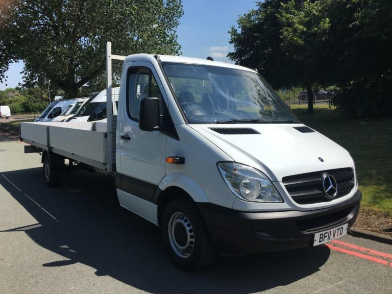 Mercedes Sprinter 311Cdi Extra Long Wheebase 19ft 10ins (6m) Dropside, 1 Owner