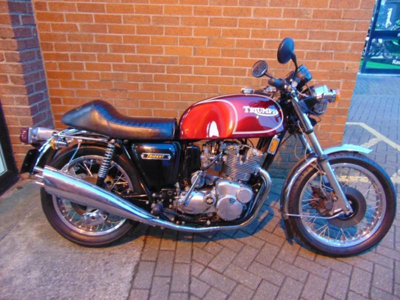 Triumph Trident T160 1979 Registered Collectors Bike