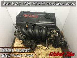 JDM 00 05 Toyota 1ZZ-FE Corolla Celica Matrix 1.8L Engine VVTi