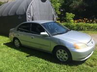 2002 Honda Civic Sedan For Sale