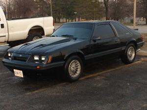 1986 Mustang gt 5 speed