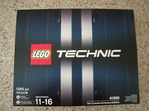 Lego Technic 41999 Exclusive Edition 4x4 Crawler
