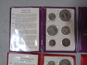 Australian Uncirculated Coin Sets For Sale London Ontario image 3