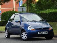 Ford Ka 1.3 2008 Style +YES GENUINE 33,000 MILES!! +1 LADY OWN +9 SERVICE STAMPS