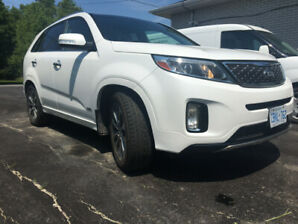 2015 Kia Sorento SX, V6, certified, pro detailed