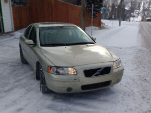 2006 Volvo S60 Sedan Low K's and ready for a Calgary winter.
