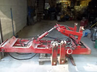 3 point hitch Tractor forklift