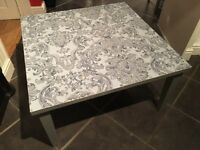 Shabby chic orierntal low style coffee table £20