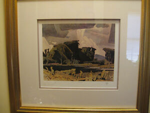 """A.J. Casson Limited Edition Print """"Bancroft"""" - Initialed.  LOW #"""
