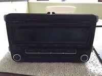 VW RCD 310 DAB radio