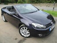2012 VOLKSWAGEN GOLF SE TDI BLUEMOTION CONVERTIBLE TECHNOLOGY CONVERTIBLE DIESEL