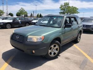2006 Subaru Forester 2.5X with Sunroof