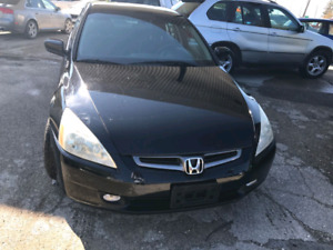 2004 HONDA ACCORD LX NEW SAFETY