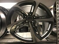 "Set of 4 19"" alloy wheels alloys rims 5x112 seat skoda Audi Vw Volkswagen"