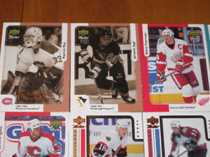 24 cartes de Hockey - Patrick Roy - Jaromir Jagr et plus
