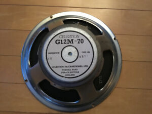 Celestion G12m 70 4 ohms made in England